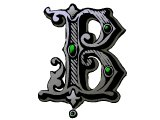 Decorative letter B