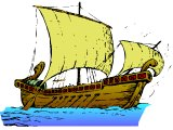 A typical Roman ship, such as Paul sailed in.