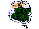 Dream of riches, lots of money