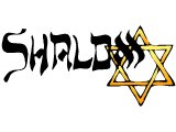 `Shalom` `Peace` with a Star of David