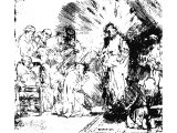 Christ revealed to the Disciples (Resurrection) (Rembrandt, 1656)