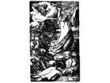 Christ on the Mount of Olives (Gethsemane) (Engraving by Durer, 1508)