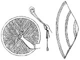 Assyrian spear, buckler, sling and body shield