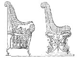 Egyptian thrones