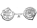 Kodrantes (Matt.5.26), Roman Quadrans or Teruncius, worth quarter of an As