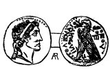 Coin of Ptolemy VI