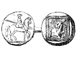 Archelaus, Tetradrachm of, king of Macedon (413 BC), showing a single-horned goat as a symbol of Macedonians - cf Dan.8.5