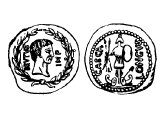 Coin of Brutus at Philippi
