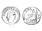 Coin of Trajan 249-251 AD