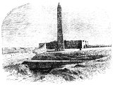 The obelisks at Alexandria called Cleopatra`s needles
