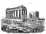 The Parthenon, or Temple of Minerva, at Athens