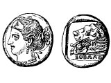 Coin of Cnidus (Act.27.7)