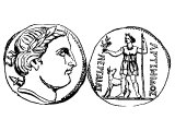 Coin of Perga in Pamphylia