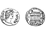 Coin of Ephesus, with Nero
