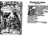 Specimen from the beginning of Tyndale`s first translation of the New Testament, the first portion of the Bible ever printed in English, printed at Cologne, 1525
