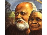 Noah and his wife - a portrait by Guy Rowe