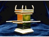 Model of the Altar of Incense, from a model of Moses` Tabernacle in the Wilderness.  Model by Andrew Gillesae, photographed by Paul McCabe