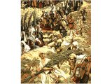 The Procession on the Mount of Olives , from The Life of Jesus Christ by J.J.Tissot, 1899