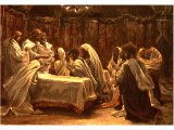 The Communion of the Apostles, from The Life of Jesus Christ by J.J.Tissot, 1899
