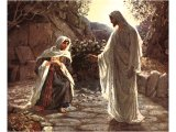 Mary recognises Jesus outside the tomb - by William Hole