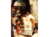 Christ Blesses Little Children, by C.F. Vos
