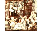 Jesus teaching in the Synagogue, from The Life of Jesus Christ by J.J.Tissot, 1899