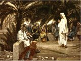 `The First shall be Last`, from The Life of Jesus Christ by J.J.Tissot, 1899