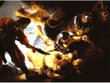 `The Blinding of Samson` by Rembrandt. Canvas, 1636. Frankfurt am Main, St delsches Kunstinsitut.