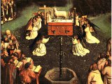 The Adoration of the Lamb by Jan Van Eyck - 1432 - St. Bavo, Ghent