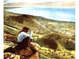 Beside the waters of Galilee. An early photograph.