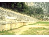 Delphi - Stadium. A stadium is one Stade long, ie about 600 feet. It was used mainly for running.