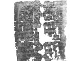 This first century divorce certificate was found at Wadi Muraba`at.