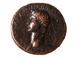 Coin of the Roman emperor Caligula