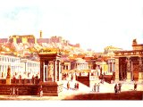 Reconstruction of the centre of Athenian life, the Agora below the Acropolis