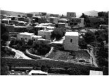 Emmaus, now Kubebe. A small Arab village with flat roofed houses.