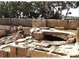 The remains of Herod`s Palace at Mamre. Now called Haram Ramat El Khalil.