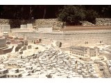 Jerusalem - Model - SW corner of Temple with hippodrome
