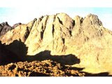 Jebel Musa in the Sinai (Mt Horeb).