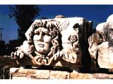 Didyma - a head of Medusa at the Temple of Apollo