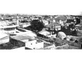 Tarsus in Cilicia. The present town occupies only a small part of the site of Cilicia`s ancient capital. The university was famed for its philosophers and lawyers. An early photograph.