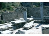 Ephesus - Baths of Scholastica - Public toilets