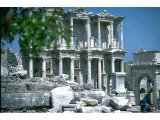 Ephesus - Celsus Library and Mazens, Mathridates Gate (on right)
