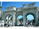 Ephesus - Entrance to Commercial Agora (Market Place)