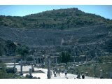 Ephesus - Great Theatre - Arcadian Way in foreground