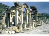 Ephesus - Hadrian`s Arch, partially restored.