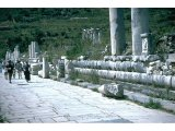 Ephesus - Marble Road - Celsus Library in background