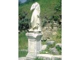 Ephesus - headless statue to honour a benefactor. Heads were swapped when a new person was honoured