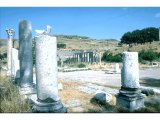 Pergamum - Lower site - Sacred Precinct - Theatre in background