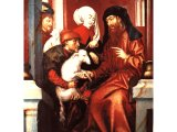 A painting by the 16th century Dutch artist, Jan de Vries depicts Joachim, a priest, being presented with a lamb to be used in Temple sacrifices.