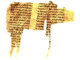 Papyrus of the Acts, found at Oxyrrhynchus, Egypt. 3rd century AD.
